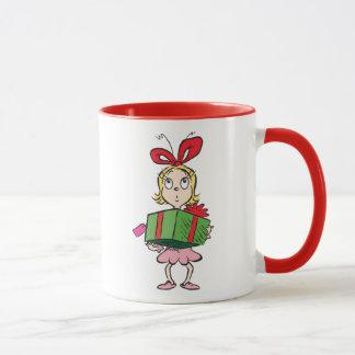 Dr. Seuss | Cindy-Lou Who - Holding Present Mug