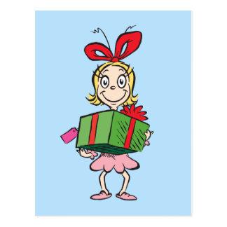 Dr. Seuss | Cindy-Lou Who - Holding Present Postcard
