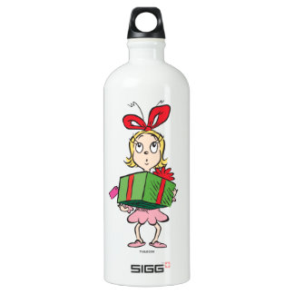 Dr. Seuss | Cindy-Lou Who - Holding Present Water Bottle
