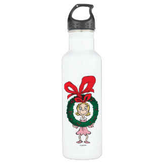 Dr. Seuss | Cindy-Lou Who - Wreath 710 Ml Water Bottle