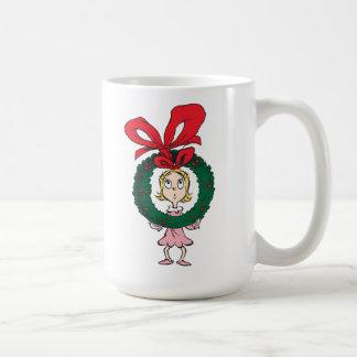 Dr. Seuss | Cindy-Lou Who - Wreath Coffee Mug
