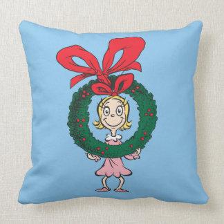 Dr. Seuss | Cindy-Lou Who - Wreath Cushion