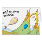 Dr. Seuss | Oh! The Places You'll Go! Card