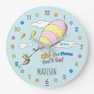 Dr. Seuss | Oh! The Places You'll Go! Wallclock