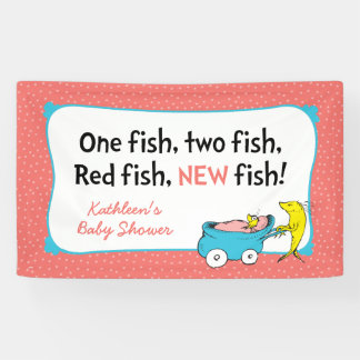 Dr. Seuss | One Fish - Girl Baby Shower