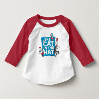 Dr. Seuss | The Cat in the Hat Logo - Characters T-Shirt