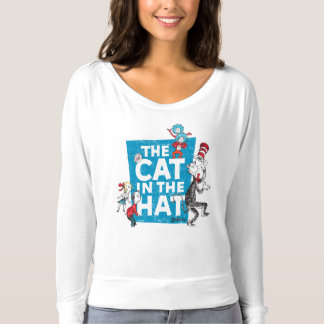 Dr. Seuss   The Cat in the Hat Logo - Characters T-Shirt