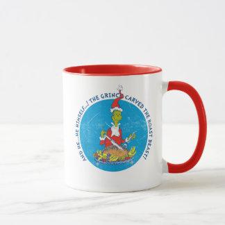 Dr Seuss | The Grinch | Christmas Roast Beast Mug