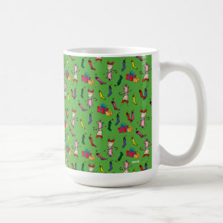 Dr Seuss | The Grinch | Cindy Lou Who Pattern Coffee Mug