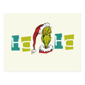 Dr. Seuss | The Grinch - Ho Ho Ho Postcard