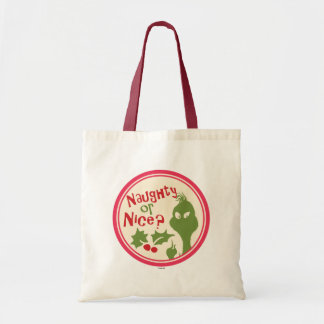 Dr. Seuss | The Grinch - Naughty or Nice? Tote Bag