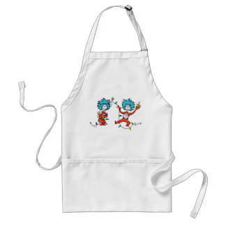 Dr Seuss | The Grinch | Thing 1 & Thing 2 Dancing Standard Apron