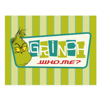 Dr. Seuss | The Grinch - Who Me? Postcard