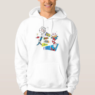 Dr. Seuss | Up Up Up with a Fish Hoodie