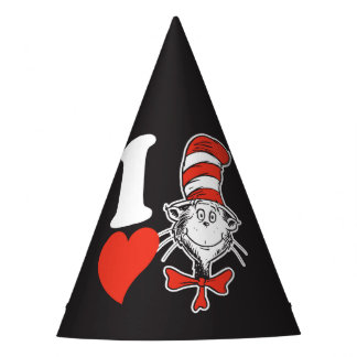 Dr. Seuss Valentine | I Heart the Cat in the Hat