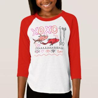 Dr. Seuss Valentine   XOXO T-Shirt