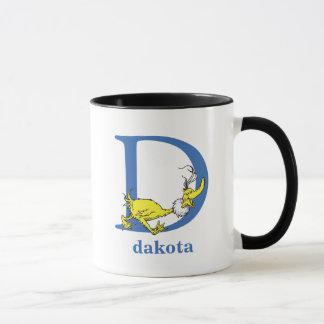 Dr. Seuss's ABC: Letter D - Blue | Add Your Name Mug