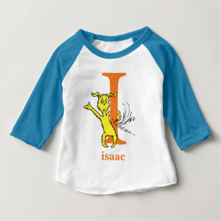 Dr. Seuss's ABC: Letter I - Orange | Add Your Name Baby T-Shirt