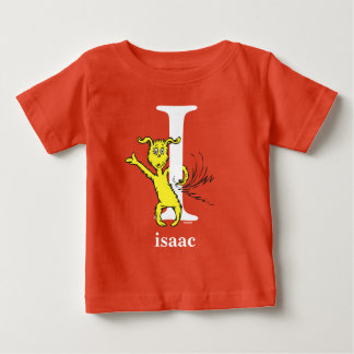 Dr. Seuss's ABC: Letter I - White | Add Your Name Baby T-Shirt
