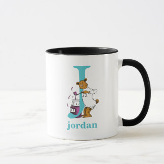 Dr. Seuss's ABC: Letter J - Teal | Add Your Name Mug