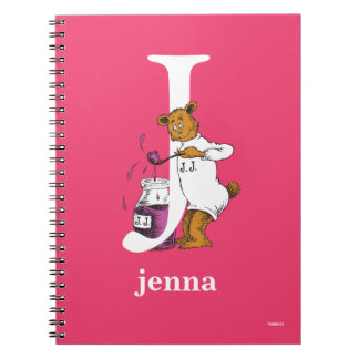 Dr. Seuss's ABC: Letter J - White | Add Your Name Notebooks