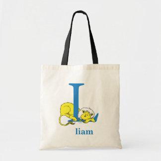 Dr. Seuss's ABC: Letter L - Blue | Add Your Name