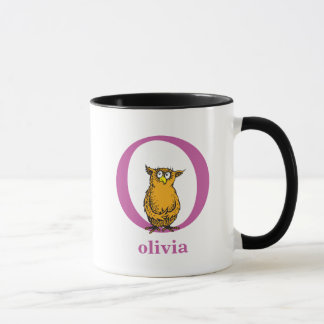 Dr. Seuss's ABC: Letter O - Purple | Add Your Name Mug