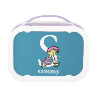 Dr. Seuss's ABC: Letter S - White   Add Your Name Lunch Box