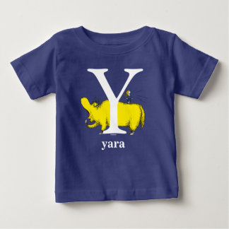 Dr. Seuss's ABC: Letter Y - White | Add Your Name Baby T-Shirt