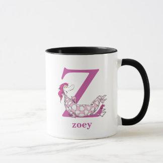 Dr. Seuss's ABC: Letter Z - Purple | Add Your Name Mug
