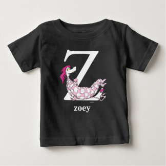 Dr. Seuss's ABC: Letter Z - White | Add Your Name Baby T-Shirt