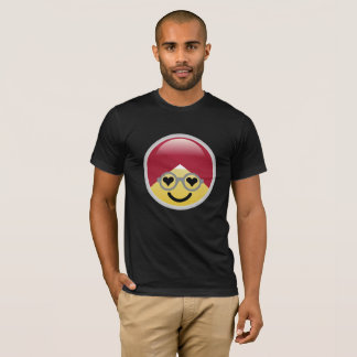 Dr. Social Media Heart Eyes Turban Emoji T-Shirt