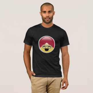 Dr. Social Media Laughing Turban Emoji T-Shirt