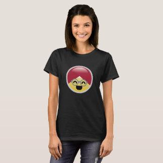 Dr. Social Media Laughing Turban Emoji T-Shirt