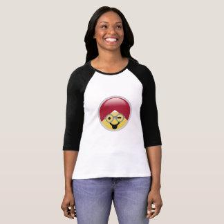 Dr. Social Media Tongue Wink Turban Emoji T-Shirt
