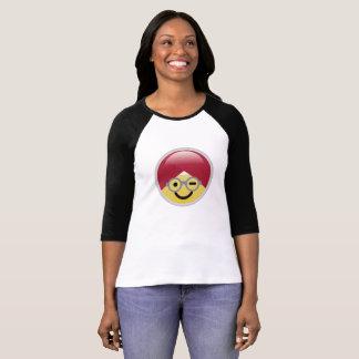Dr. Social Media Wink Turban Emoji T-Shirt