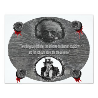 Dr.Stein 11 Cm X 14 Cm Invitation Card
