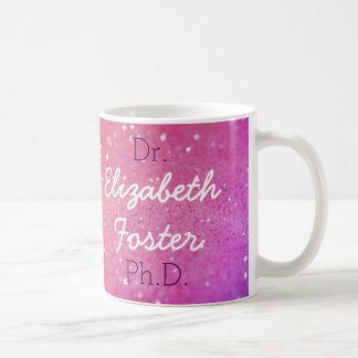 Dr (Your Name) PhD Graduation Mug