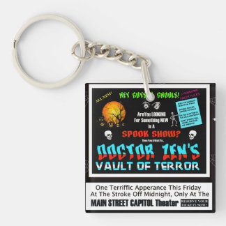 Dr. Zen's Vault Of Horror Key Ring