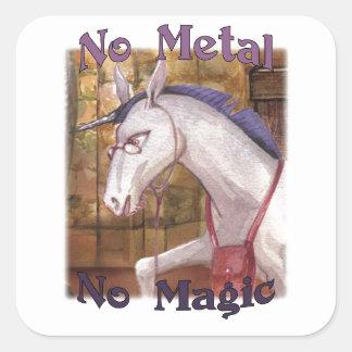 Dr. Zinko No Metal No Magic Stickers