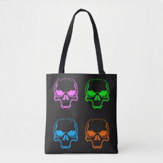 Draagtas duplicate Skull Tote Bag