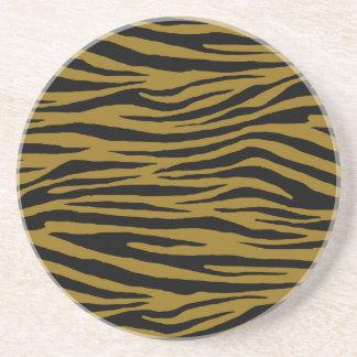 Drab Tiger Coasters