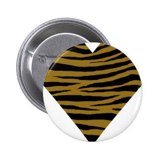 Drab Tiger GH 6 Cm Round Badge