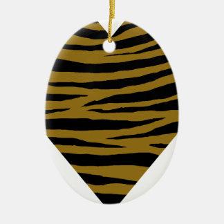 Drab Tiger GH Ceramic Ornament