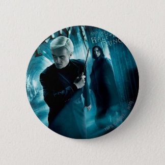 Draco Malfoy and Snape 1 6 Cm Round Badge