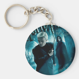 Draco Malfoy and Snape 1 Key Ring