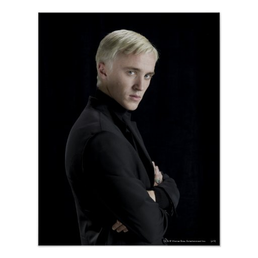 Draco Malfoy Arms Crossed Posters