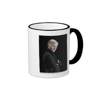 Draco Malfoy Arms Crossed Ringer Coffee Mug