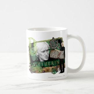 Draco Malfoy Collage 1 Basic White Mug
