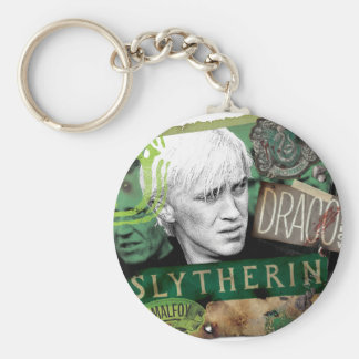 Draco Malfoy Collage 1 Key Ring